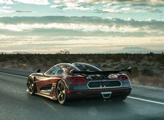 koenigsegg agera RS sets new world records as fastest production car in the world