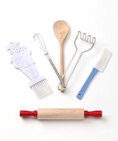 Look what I found on #zulily! Junior Baking Tool Set #zulilyfinds