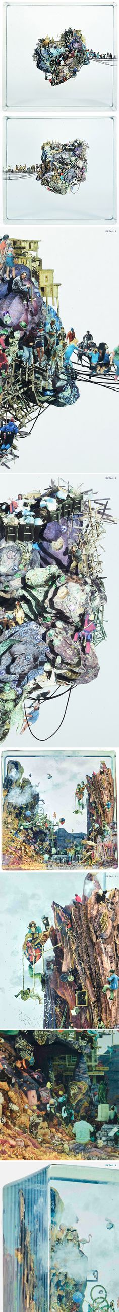 dustin yellin - Alphi Creative