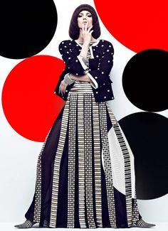 Samantha Rayner by Chris Nicholls for Fashion Magazine