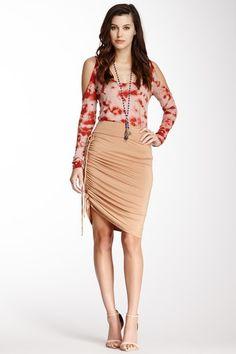 Duncan Drawstring Skirt by Rachel Pally on @HauteLook