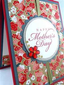 Japanese paper Mothers Day card 2