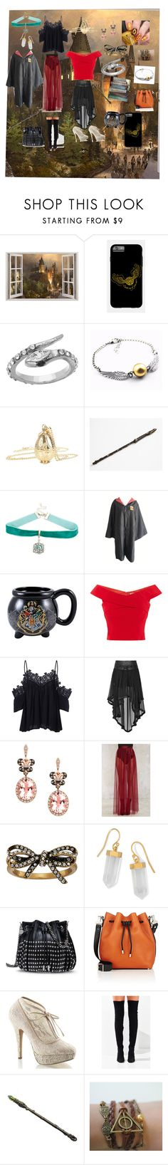 """""""Harry Potter"""" by jessicajadotte ❤ liked on Polyvore featuring Blu Bijoux, Warner Bros., Effy Jewelry, Nasty Gal, Marc Jacobs, BillyTheTree, STELLA McCARTNEY, Proenza Schouler, Pinup Couture and Jeffrey Campbell"""