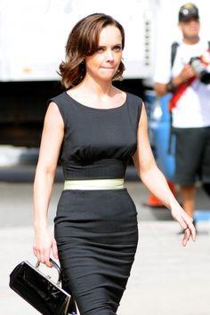 Christina Ricci - Black Dress Candids-11