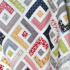 Quilting: Jelly Roll Quilt Pattern Marcie's Maze