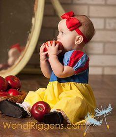 Fotos de Bebés convertidos en personajes de cuento