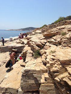 Giola-Thasos Thasos Greece, Greece Islands, Arabian Nights, Beaches, Grand Canyon, Art Projects, Greek, Water, Travel