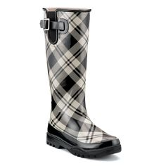 very comfy rain boot