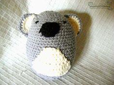 Adorable Koala  Amigurumi ~ Patrón Gratis en Español aquí: http://www.lasmanualidades.com/6422/adorable-koala-de-crochet