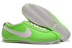 http://www.jordanabc.com/nike-cortez-leather-women-shoes-green-white.html NIKE CORTEZ LEATHER WOMEN SHOES GREEN WHITE Only $76.00 , Free Shipping!