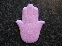 Zeepmal Hamsa hand ( Hand van Fatima )