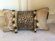 Animal Print CUSTOM PILLOWS BY CLAIRE