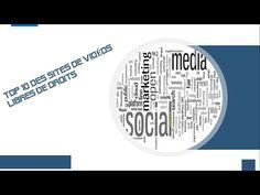 TOP 10 DES SITES OÙ TROUVER DES VIDÉOS LIBRES DE DROITS - YouTube Public, Chart, Marketing, Music