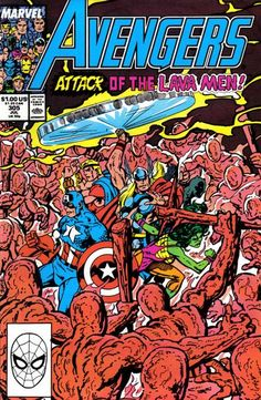 Cover for The Avengers (Marvel, 1963 series) #305 [Direct Edition]