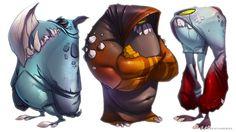 Monsters on Behance