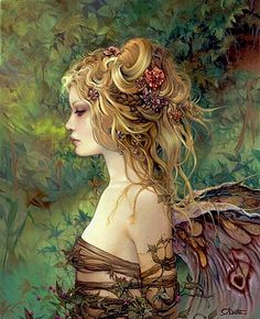 Blond fairy APHRODISIAC ART : Photo