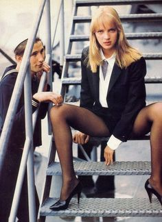 Image result for uma thurman 90's style