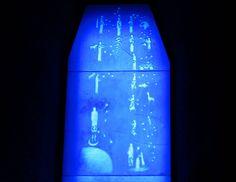 detalhe de vitral azul | by Fabio Panico