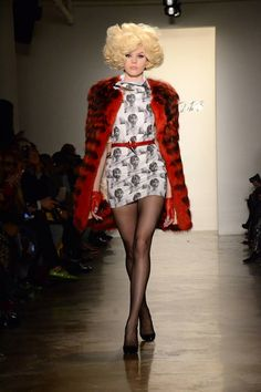 The Blonds Fall 2013 Ready-to-Wear Runway - The Blonds Ready-to-Wear Collection - ELLE