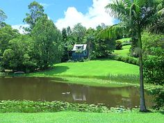 """Montville Country Cabins - Montville, Sunshine Coast and Hinterland - """"Welcome to a natural amphitheatre that has as its focal point one of the most enchanting private lakes we have come across. In this gorgeous setting there are nine charming cottages dotted throughout manicured gardens, each with views over sweeping lawns down to the lake or out to verdant rainforest."""""""
