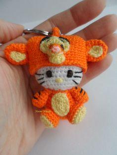 El blog de Noe - Aguja, lana y tijeras: Nº12/50: Hello kitty tiger