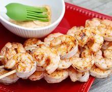 shrimp kabobs-i love shrimp