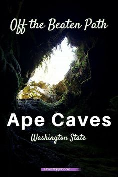 Have you ever heard of the Ape Cave? Me either, until I moved to Washington state. Here's three options on how to explore this interesting geological space!