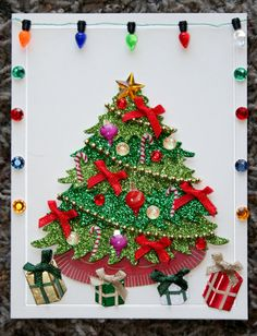 Ultimate Christmas Tree Christmas Blank Card by GIFToLOTY on Etsy, $4.50