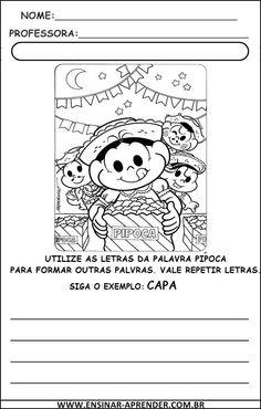 """"""" Atividades Escolares """": Novas Atividades Festa Junina"""