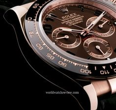 Rolex Oyster Perpetual Cosmograph Daytona automatic chronometer watch (ceramic bezel, detail)