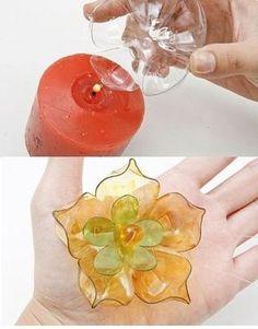 plástico - garrafas - reciclagem - ideias