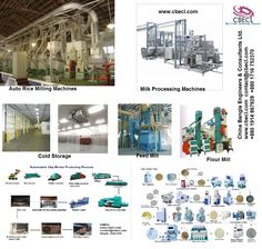 Our Products: Auto rice mill, auto bricks , feed mill, flour mill, milk processing, machinery.