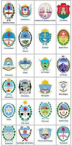 Heráldica en la Argentina: Escudos de las provincias argentinas