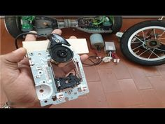 Como fazer um Hoverboard Caseiro ou monociclo eletrico, PARTE 1 1, Electric Push Bike, Homemade, Unicycle