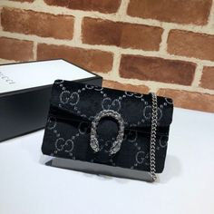 73bd63eee083 Gucci Dionysus GG velvet super mini bag 476432 Black - Gucci Dionysus Mini  - Ideas of