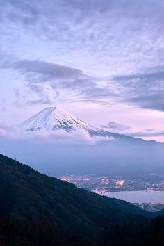 Mt. Fuji at 18:31