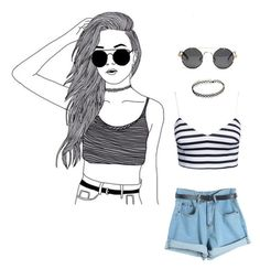 """Summer"" by camil-lion on Polyvore"