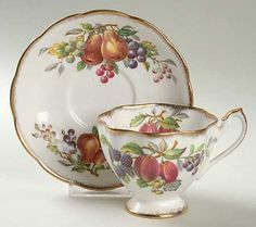 england queen Pattern | QUEEN ANNE (ENGLAND) FRUIT SERIES at Replacements, Ltd