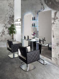 Trendy hair salon furniture ideas home decor Home Hair Salons, Hair Salon Interior, Salon Interior Design, Beauty Salon Decor, Beauty Salon Design, Hair Salon Chairs, Barber Shop Decor, Salon Furniture, Furniture Ideas