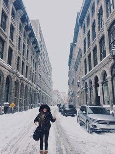 Explored Montreal during a snowstorm Montreal, Louvre, Explore, Building, Travel, Viajes, Buildings, Destinations, Traveling