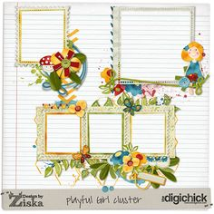 Design by Ziska: What's new in the begining of may–Playtime collection