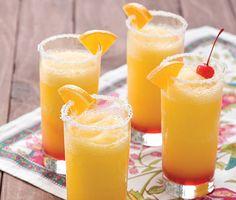 Frozen Sunrise Margaritas