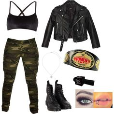 What I (sage) when I went with dean to his match with Tyler It was an open challenge Get rid of the makeup, the belt and the mic Wrestling Outfits, Wwe Outfits, Women's Wrestling, Cool Outfits, Wwe Halloween Costume, Halloween Costumes For Girls, My Outfit, Outfit Ideas, Wwe Female Wrestlers