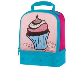 Thermos Dual Compartment Lunch Kit, Cupcake Sprinkles