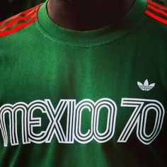 """@EnLawded.com.com's photo: """"The Adidas Originals Mexico 1970 T-shirt by EnLawded.com 