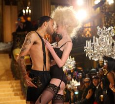 Don Benjamin and Nina Burns . America's Next Top Model, Cycle 20: Guys & Girls > Meet the Guys & Girls Of Cycle 20 (Part 1): ‎Fashion Runway Casting - Backstage