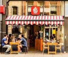 Omelegg De Pijp Brunch Cafe Amsterdam Cafe Exterior