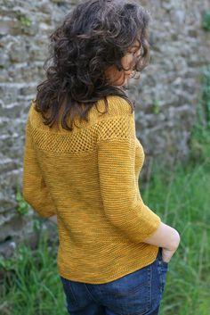 Love the shaping.... small back detail by Stolen Stitches, via Flickr