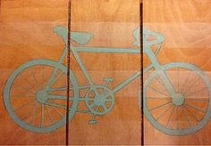 DIY bicycle art