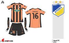 Apoel FC | away jersey | 2014-15